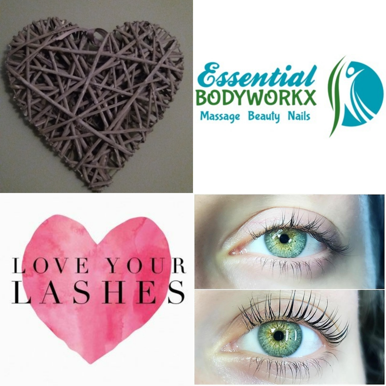Lash lift & Tint only £25 - for a fuller natural look x